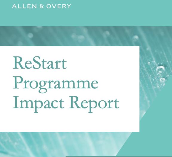 ReStart Impact Report 2020